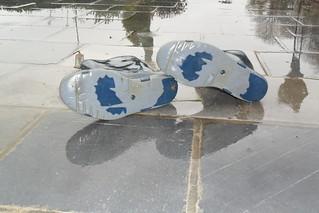 192 -- Stincky and wornout Dunlop Wellies -- Bottes Dunlop puantes et usées --  Gummistiefel  -- Dunlop - Hevea laarzen