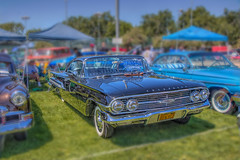 Shiny Old Gal (Michael F. Nyiri) Tags: 1960chevrolet automobile chevrolet vintage culvercity carshow