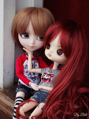 Maxwell e Ellie (♪Bell♫) Tags: isul neko mao maxwell stoker dal chibi risa rock ellie armstrong couple doll love groove