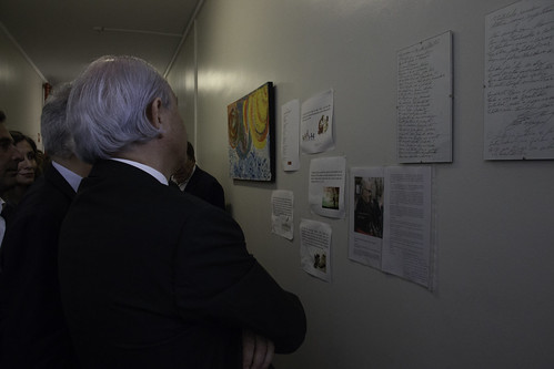 Rui Rio em visita ao Alojamento Social de Emergência e ao Arco Maior.
