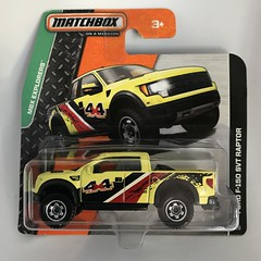Mattel Matchbox - MBX Explorers - Number 57 / 120 -  Ford F-150 SVT Raptor - Miniature Die Cast Metal Scale Model Vehicle (firehouse.ie) Tags: fordf150 toys toy vehicle automobile l'auto coche car raptor 4x4 pickup suv f150 trucks yruck fords ford miniatures miniature models model metal matchbox mattel
