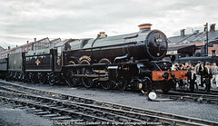 'King Without a Bell.. (Robert Gadsdon) Tags: 1961 gwr kingclass 6000 kinggeorgev swindon overhaul withoutbell