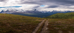 The Road to Loneliness (stefanblombergphotography.com) Tags: awe awsome clouds grass landscape lappland mighty mountains nature outdoor peaceful sky stefanblombergphotography swedishlappland tranquil tree view lines wwwstefanblombergphotographycom taking landscapes breathtakinglandscapes