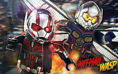 LEGO Ant-Man & The Wasp Preview (MGF Customs/Reviews) Tags: lego marvel antman the wasp custom figure minifigure paul rudd evangeline lily