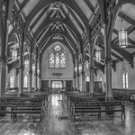 Saint Andrew's Complex 32  - Sanctuary in Black and White thumbnail