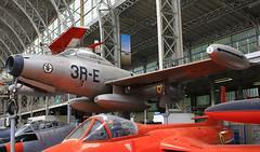 Republic F 84G Thunderjet ~ 3R-E / FZ153 (Aero.passion DBC-1) Tags: musée royal de larmée bruxelles muséedelair airmuseum collection dbc1 david biscove aeropassion avion aircraft aviation plane preserved préservé republic f84 thunderjet ~ 3re fz153