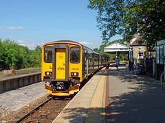 150234 Bere Alston (11) (Marky7890) Tags: gwr 150234 class150 sprinter 2p91 berealston railway devon tamarvalleyline train
