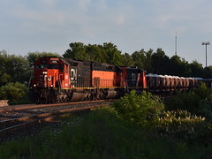 Proctor Arrival (Robby Gragg) Tags: cn dmir sd40t3 405 proctor