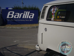 Promo Barilla - Parma (partyinfurgone) Tags: affitto barilla epoca evento furgone pesto pasta hippie parma noleggio promo promozione pubblicità pulmino storico vintage volkswagen vw