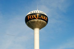 Fox Lake, Wisconsin (Cragin Spring) Tags: wisconsin wi midwest unitedstates usa unitedstatesofamerica foxlake foxlakewi foxlakewisconsin watertower