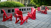 Empty red chairs (umakantht) Tags: chairs red empty d800 nikonpce nikonpce24mm sunny ottawa ontario canada