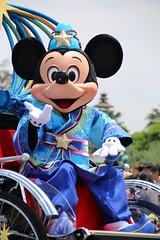 Tanabata Greeting (sidonald) Tags: japan tokyo disney tokyodisneyland tdl tokyodisneyresort tdr tanabatagreeting starfestival tanabata disneytanabatadays ディズニーランド 七夕グリーティング 七夕 ディズニー七夕デイズ ミッキー mickeymouse mickey