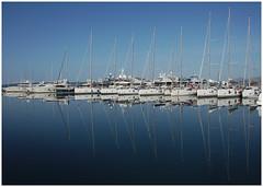 Marina Kaštela I (LeonardoDaQuirm) Tags: marina kaštela split sailing reflections boat yacht