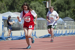 SONC SummerGames18 Tony Contini Photography_0547 (Special Olympics Northern California) Tags: 2018 summergames trackfield running athlete femaleathlete teamfresno adultathlete specialolympics