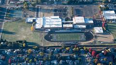 Meredian High School From the Air (AvgeekJoe) Tags: aerialphotograph d5300 dslr nikon nikond5300 aerial aerialphoto aerialphotography tamron18400mmf3563diiivchld tamron18400mm