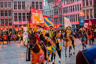Ommegang Grand-Place 2017-07-05
