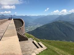 Cappella Santa Maria degli Angeli Monte Tamaro. Vista sulla città di Bellinzona (CANETTA Brunello) Tags: vista angeli maria santa cappella monte tamaro