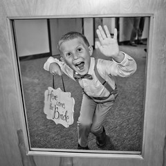 Oh hi!!! (Camelot Photography Minnesota) Tags: best weddings wedding weddingphotography ringbearer sign church awesome amazing funny cute mn minnesota weddingminneapolisminnesotamn bride groom