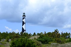 Carolina Lighthouse (pjpink) Tags: capelookout lighthouse diamond pattern coast coastal eastcoast crystalcoast northcarolina nc carolina may 2018 spring pjpink 2catswithcameras