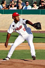 FELIPE TEJADA (MIKECNY) Tags: pitch pitcher throw mound baseball minorleague nypennleague astros tricityvalleycats felipetejada