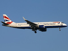 BA CityFlyer | Embraer ERJ-190SR | G-LCYN (Bradley's Aviation Photography) Tags: egss stn stanstedairport stansted londonstanstedairport essex canon70d aircraft air aviation airplane airport aeroplane airlines aerospace airliner plane avgeek aviationphotography planespotting bacityflyer embraererj190sr glcyn