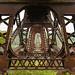 Destroyed Wrought Iron Trestle Bridge 2