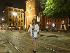 Milano - Corso di Porta Romana (Alessia Cross) Tags: crossdresser tgirl transgender transvestite travestito