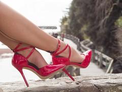 red heels (normamisslegs) Tags: heels redheels highheels stockings nylon nylonstockings basnylon bascouture fullyfashioned sil glamour frenchgirl feets élégante élégance fashion style mode talonshauts stiletto