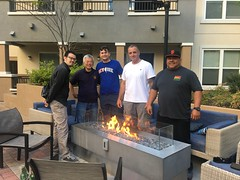 Some the Senseis and students from Cahill's having a BBQ (Judo5150) Tags: willycahill judo jujutsu jiujitsu