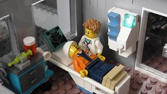 The new A&E department (rh1985moc) Tags: hospital lego england health service surgery ambulance medical centre