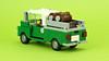 "Green pickup truck ""LIGO"" (de-marco) Tags: lego town city farmer truck pickup green 5stud"