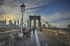 A Walk Across the Brooklyn Bridge (GloriaOcch) Tags: brooklynbridge bridge newyork nyc manhattan