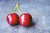 Sweet Cherry (M Malinov) Tags: cherry sweet red macro beautiful beauty fruit summer prunusavium