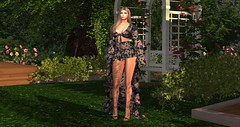 Into the Garden (juju-e) Tags: catwa slink entity stealthic americanbeauty floral nature secondlife