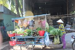 Market on two wheels, Tan Chau (Buster&Bubby) Tags: mekong mekongcruise vietnam vietnamese tanchau village mekongriver cambodia rattan rattanmatworkshop workshop rattanmat