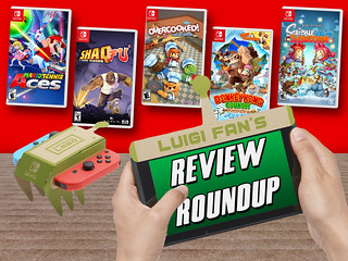 Review Roundup! (Labo, Mario Tennis, and more!)