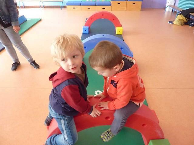 Photo 2 - Les enfants du multi-accueil découvrent l'école
