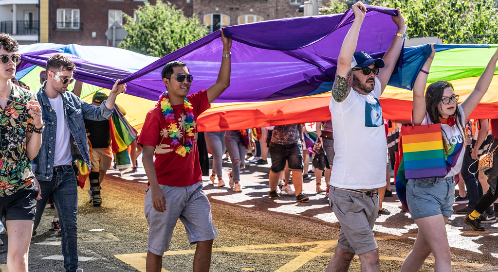 ABOUT SIXTY THOUSAND TOOK PART IN THE DUBLIN LGBTI+ PARADE TODAY[ SATURDAY 30 JUNE 2018] X-100043