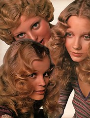 Making Waves In The Seventies (jerkingchicken) Tags: seventeenmagazine 1971 seventieshair 1970s vintagehair vintagefashion