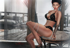 # ♥526 (sophieso.demonia) Tags: emotions swallow addams dead dollz fameshed kaithleens gos gingerfish poses