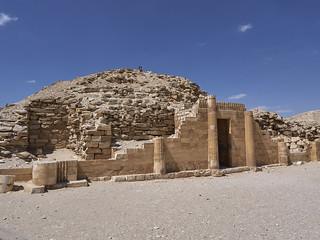 Casa del Sur, Complejo Funerario de Djoser, Saqqara, Egipto
