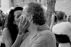 Love my man (Gérard Barré) Tags: decisive moment street portrait scene girl boy photographie soul faces creatives camera eye lens montpellier france city candid people gens rue musée museum plage beach concert group groupe dog chien animal love glasses legs selfie art streetshooter shot