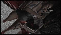 ☽O☾Dark Rains☽O☾ (bexhaven) Tags: body furniture hair jewelry makeup outfit piercings pose scenery shape skin tattootags69l allure backdrop beautyofdarkness bella blaxium camo cherrybloom choker cuteshit dancing dubai earrings elegant elf facescars foxy fruity hot human july kayla leather leela lepunk leven lilith maaverick oceana overall poses puppetmaster rain redgirl ripped shorts silence skeleguen slsyndicate songbird starseed tooty top treschic uber umbrella veronica white