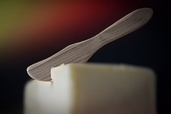 made of wood (Uniquva) Tags: smileonsaturday madeofwood butter knife wooden