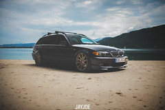 BMW 3 E46 TOURING (JAYJOE.MEDIA) Tags: bmw 3 e46 touring low lower lowered lowlife stance stanced bagged airride static slammed wheelwhore fitment