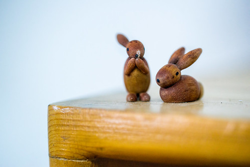 Wooden Rabbit toys