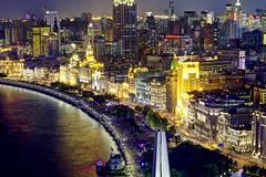 Illuminated Night Bund (Tony Shi Photos) Tags: shanghai china asia bund puxi city urban architecture buildings landmark cityscape famous illuminated huangpuriver huangpu tourism tourist travel