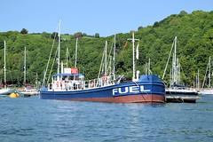 Fuel Barge (R~P~M) Tags: boat vessel harbour port devon england uk unitedkingdom greatbritain barge fuel dartmouth