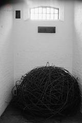 Kilmainham Gaol (tim_asato) Tags: timasato kilmainhamgaol dublin ireland irlanda miedo crepy scary barbwire creepy abandoned wire ball bola alambre prision jail spooky fear