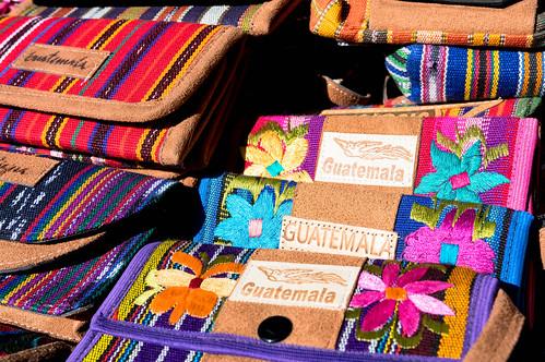 Guatemalan souvenier wallets